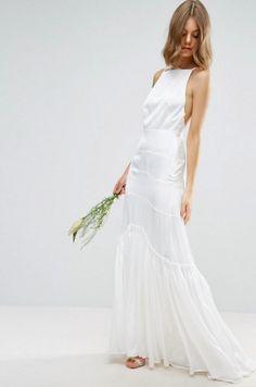Highstreet-brudekjoler på budget: smukke hvide kjoler med blonder til bryllup