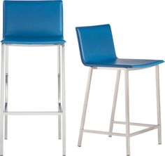 Fun.  phoenix swoon barstools in dining chairs, barstools | CB2