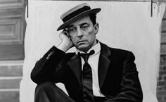 Buster Keaton: Iconic American, film pioneer. Contemporary of Charlie Chaplin. Many feel Keaton's work actually surpassed the more widely known and well remembered Chaplin. This star needs more attention and recognition. His work is too classically great to be allowed to merely fade away, into distant history.