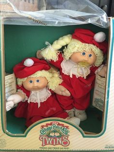 ��Vintage 1985 NRFB Cabbage Patch Kids Twins Coleco W/Papers Pacifier Dimples | Dolls & Bears, Dolls, By Brand, Company, Character | eBay!