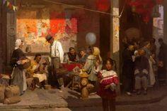 Mian Situ Of Chinatown Merchants Street, San Francisco 1904
