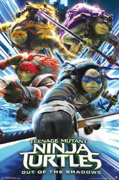 Ninja Turtles 2 - Attack - Trends International