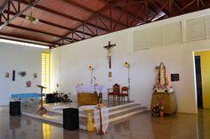 Parte Interna de la Iglesia de la comunidad de Atarigua, Estado Lara.
