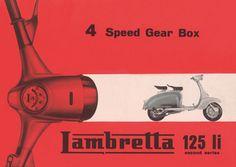 WDC92035 - Lambretta li 4 Speed Gear Box