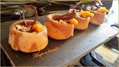 Cestini di muffin all'albicocca e muesli