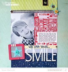 Blog - smile - susan weinroth #scrapbook