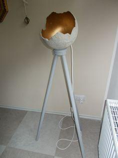 windlicht aus beton kreativbeton auf luftballons verteilt aush rten lassen und anschlie end. Black Bedroom Furniture Sets. Home Design Ideas