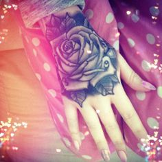 Idk about the hand but this is really pretty