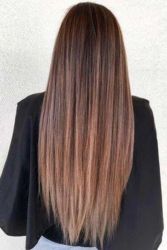 53 Long Haircuts With Layers For Every Type Of Texture Long Layered Hair Straight balayagehairlacio Haircuts Layers long Texture Type Long Face Hairstyles, Haircuts For Long Hair, Modern Haircuts, Straight Hairstyles, Casual Hairstyles, Long Layered Haircuts Straight, Hairstyles 2018, Party Hairstyles, Protective Hairstyles