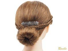 Trachten Haarspange Edelweiß Kleine Französische Haarspange   Etsy Jewelry Case, Hair Jewelry, Jewelry Box, Environmental Influences, French Hair, Costume, Bridal Jewelry Sets, Antique Silver, Hair Clips