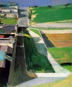 Memories of Art School    Richard Diebenkorn - Cityscape I (Landscape No.1), 1963. Oil on canvas