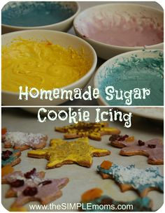 a simple real food recipe :: DIY powdered sugar, icing, and real food cookie toppings