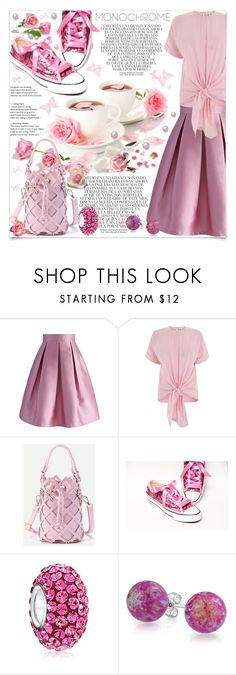 """""""All In Pink"""" by lucky-ruby ❤ liked on Polyvore featuring McGuire, Whiteley, Chicwish, Warehouse, Bling Jewelry, Pink and monochromepink"""