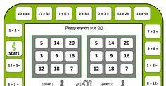 Plus sommen bingo tot en met 20