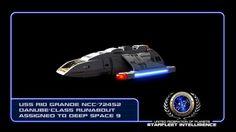 #STARFLEET INTELLIGENCE   USS Rio Grande NCC-72452 Danube-Class #runabout   #StarTrek