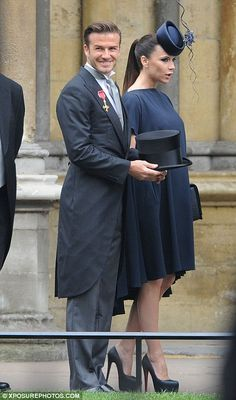 David and Victoria Beckam