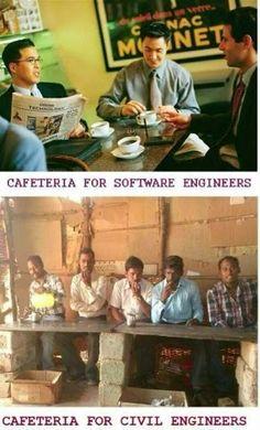 Funny Software Engineers vs Civil Engineers !!