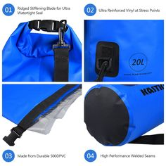 Canoe Storage ** KastKing Waterproof Dry Bag Boating and Fishing Kayak Dry Bags Waterproof Duffel BackpackDry Sack Water Proof Canoe with Camping and Fishing Gear * Take a look at the picture by going to the link. (This is an affiliate link). Canoe Storage, Bag Storage, Canoe And Kayak, Kayak Fishing, Boating, Kayaking, Skiing, Camping, Bike