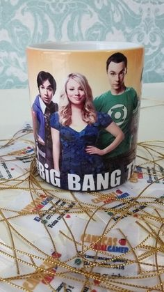 The big bang theory, Caneca Sheldon, Penny, Leonard, Série, mug, A teoria do big bang