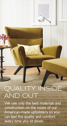 Modern Accent & Lounge Chairs - Modern Living Room Furniture - Room & Board