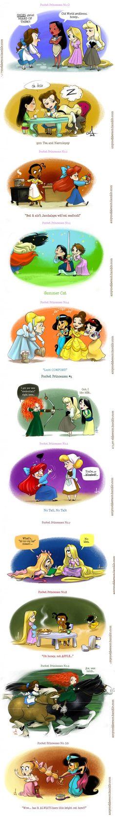 pocket princesses # 0-10