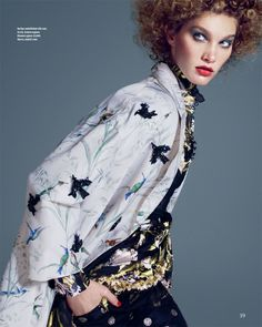 visual optimism; fashion editorials, shows, campaigns & more!: decor blimey: irina nikolaeva by andrew yee for how to spend it 4th march 2015