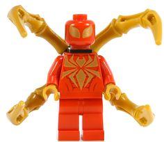 Lego Poison Ivy, Legos, Power Man, Iron Spider, Man Set, Lego Super Heroes, Pokemon, Lego Building, Lego Marvel