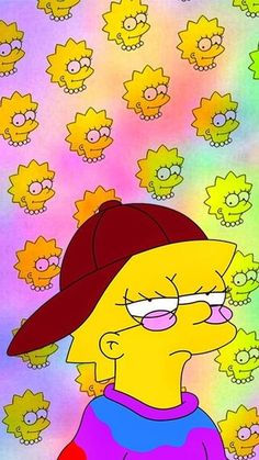 the simpsons wallpaper Tumblr Wallpaper, Cartoon Wallpaper, Wallpaper Spongebob, Simpson Wallpaper Iphone, Mood Wallpaper, Locked Wallpaper, Trendy Wallpaper, Wallpaper Iphone Cute, Aesthetic Iphone Wallpaper