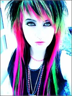 #STUNNING #LONG #EMO #HAIRSTYLES FOR #GIRLS IN #2017