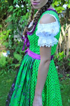 Bavarian Dirndl dress - ready for Oktoberfest #dirndl #oktoberfest #style #fashion #mystyle