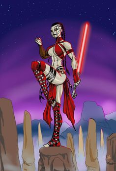 Night Sister 2 by RodneyCJacobsen on DeviantArt Star Wars Characters Pictures, Star Wars Pictures, Star Wars Images, Star Wars Sith, Star Wars Rpg, Clone Wars, Star Trek, Star Wars Concept Art, Star Wars Fan Art