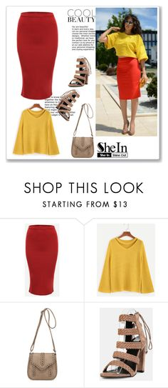 """""""SheIn 7/I"""" by hedija-okanovic ❤ liked on Polyvore featuring shein"""