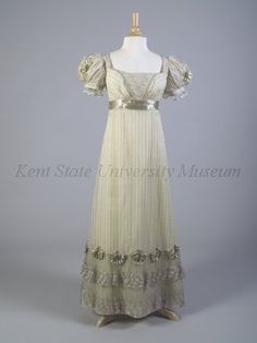 evening dress, 1895-1898, england kent state | evening dress ca 1820 uk kent state 2 years ago 20 comment evening ...