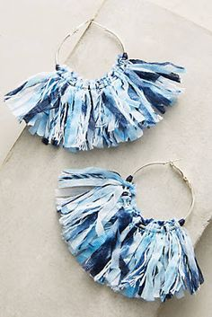 Anthropologie Favorites:: Summer Statement Earrings