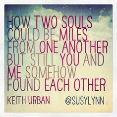 Keith Urban Without You Lyrics