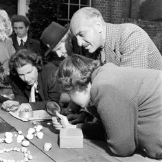LIFE Visits the British Snail-Watching Society in 1946 | LIFE.com