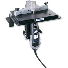Shaper/Router Table for Dremel! I would most definitely use this. $40