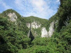 Las cuevas del Parque Nacional Mulu (Malasia)