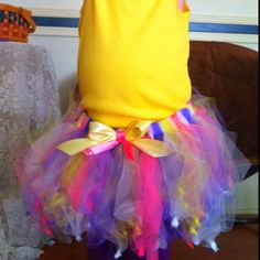 Easter tutu...need to monogram My shirt. Http://Facebook.com/Knitsybitsys Ashley McGahey