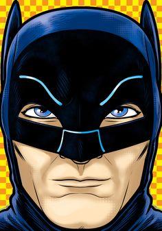 Adam West Batman by Thuddleston.deviantart.com on @deviantART