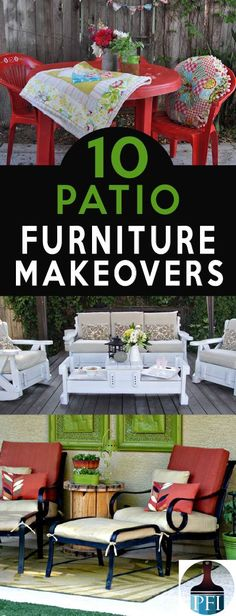 Even well-kept patio furniture can suffer sun damage and fading. Here are 10 ways to save your patio furniture and make it look fresh and new this season.