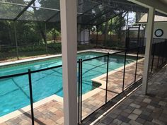 Oak Hill Pool Fences - Oak Hill residents call Baby Barrier Pool Safety Fence of Volusia to get a quality pool fence that lasts! #PoolSafetyFence #PoolSafety #BabyBarrier