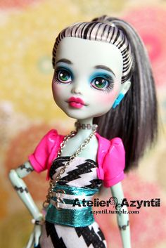 Monster High: Dawn of the Dance Frankie | Flickr - Photo Sharing!