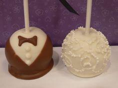 Cake Pops For Weddings - http://www.talenthuntweb.com/cake-pops-for-weddings/