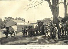 Click to Close Hospital Photos, Covered Wagon, My Land, British Colonial, African History, Military History, Heritage Image, Old Pictures, Cape Town