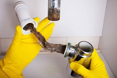 A professional plumber can evaluate your entire plumbing system & clean it completely. Read on as we explain when you should hire a pro for drain cleaning. Clogged Drains, Best Drain Cleaner, Water Heater Installation, Driveway Installation, Residential Plumbing, Plumbing Drains, Hvac Repair, Plumbing Emergency