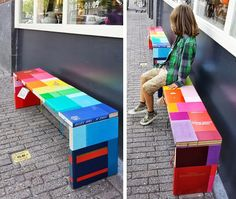 style-diaries: book bench