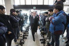 Fotógrafos protestam contra censura na Coreia do Sul
