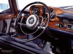 Mercedes Benz 600 interior.
