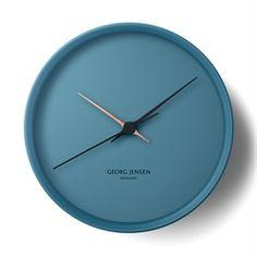 Georg Jensen ( ジョージ ジェンセン )「 KOPPEL WALL CLOCK(コッペル・ウォールクロック) φ220 」ブルー [9963587457]